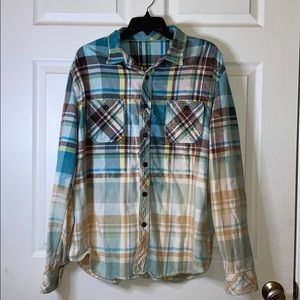Unique One of a Kind Upcycled Flannel